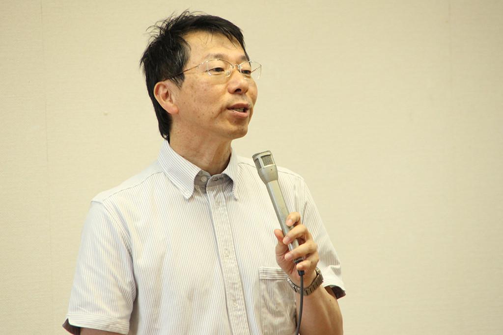 講演会 講師の土江先生